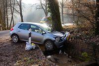 Lokales,Unfall Kopstal-Schoenfels. Foto: Gerry Huberty/Luxemburger Wort