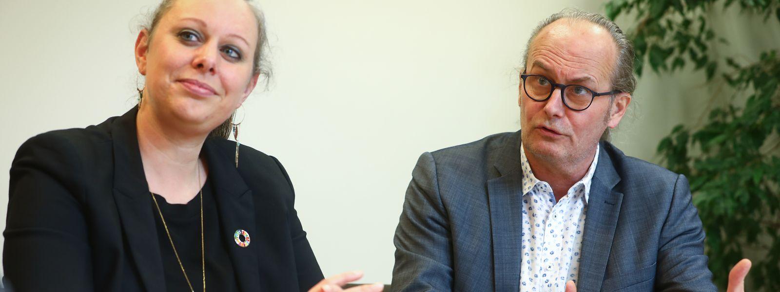 Kein Diktat, sondern Logik der Zeit: Carole Dieschbourg und Claude Turmes über ihre Energie- und Klimapolitik.