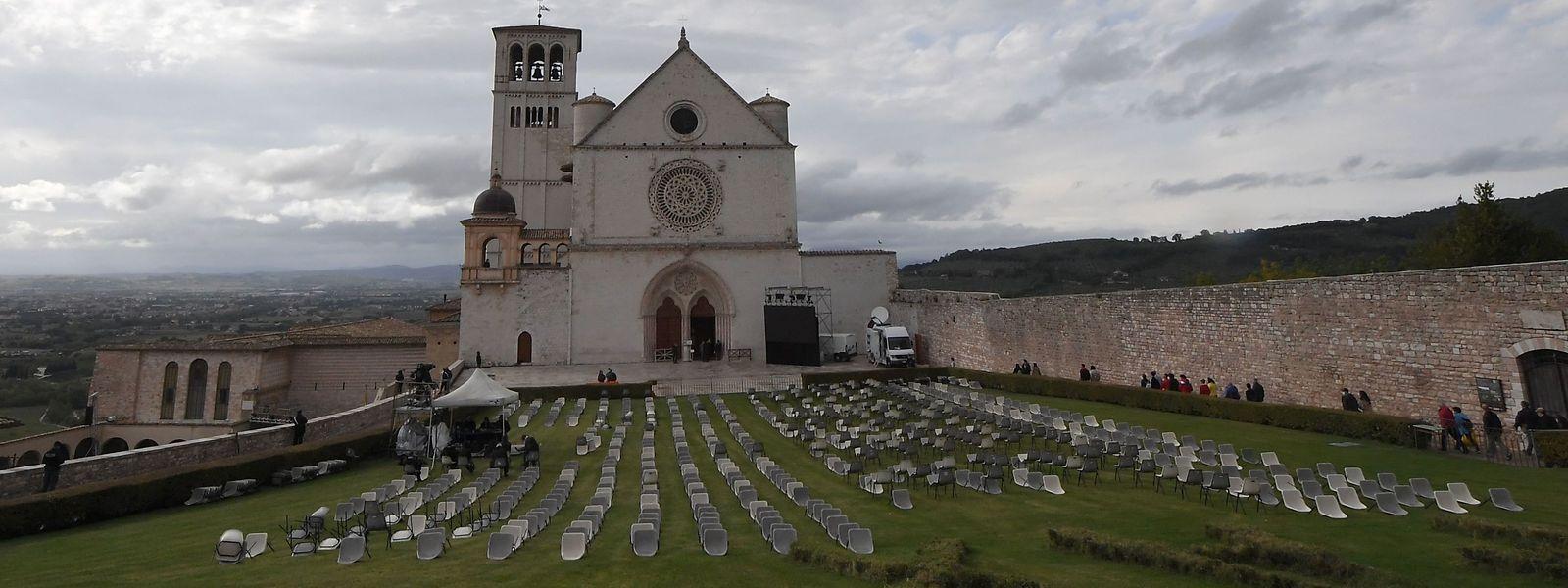 Die Basilika in Assisi.