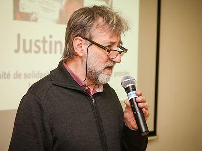Justin Turpel: «Le but de notre action n'est pas de mettre la pression sur la justice luxembourgeoise mais de permettre une libre expression de la solidarité et de l'opinion sur le respect du droit de savoir et des lanceurs d'alerte».