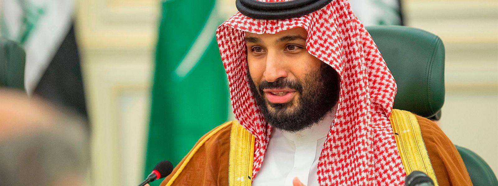 Mohammad bin Salman, príncipe herdeiro e primeiro vice-primeiro-ministro saudita.