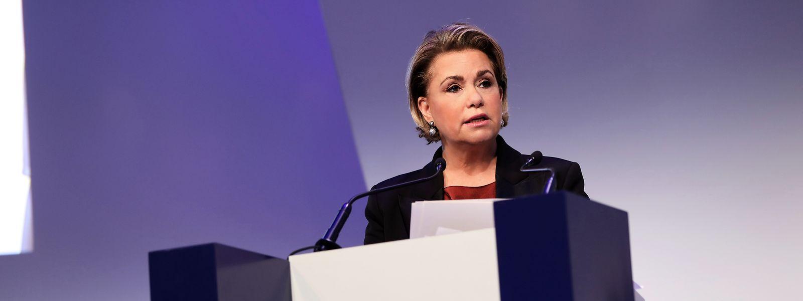 Die Großherzogin gibt Überlebenden sexueller Gewalt eine Stimme.