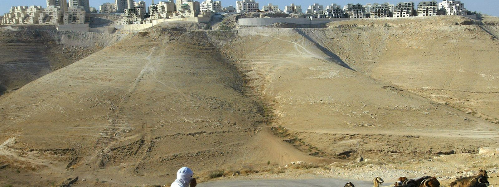 O território israelita continua a ganhar terreno palestiniano