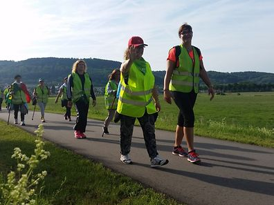 Venus d'Esch-sur-Alzette, Schifflange, Dudelange, Differdange, Soleuvre et Luxembourg, plus d'une soixantaine de pèlerins se sont mis en marche pour rejoindre Wiltz avant jeudi soir.