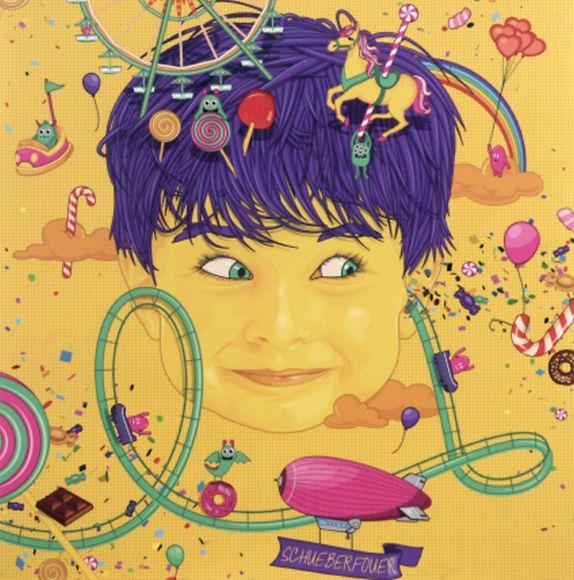 L'affiche de la gagnante Céline Mazzili