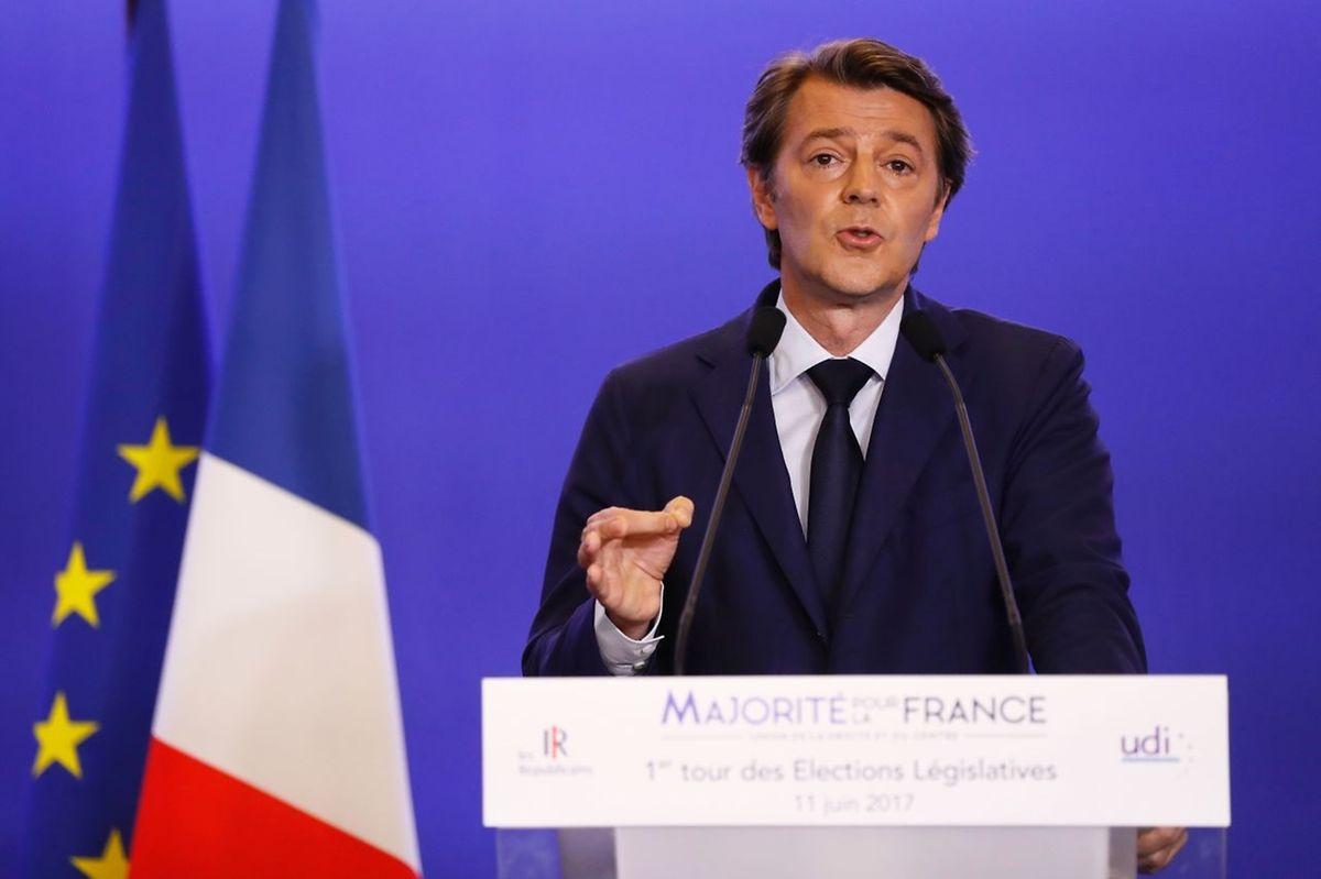 """Auch Francois Baroin konnte für die """"Républicains"""" keinen echten Erfolg ausmachen."""