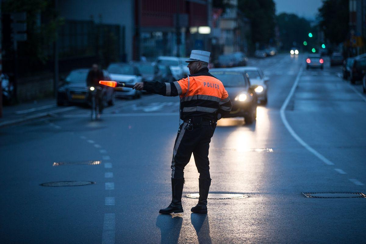 Am Sonntagmorgen führte die Polizei an drei Orten in der Hauptstadt systematische Alkoholkontrollen durch