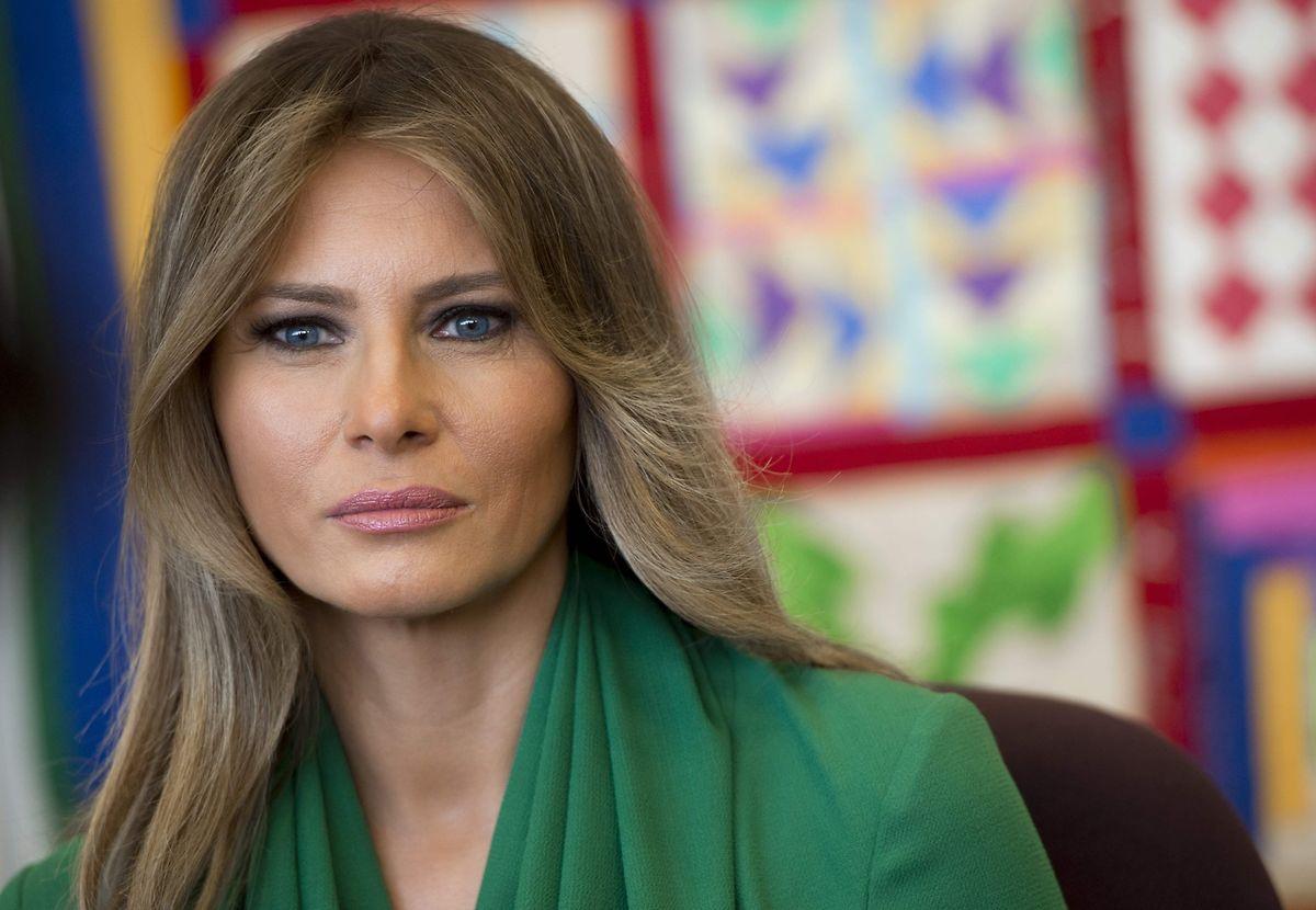 Melania Trump, eine mysteriöse Frau.