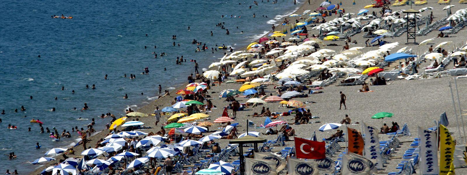 15 Millionen Urlauber besuchten 2019 Antalya an der türkischen Riviera.