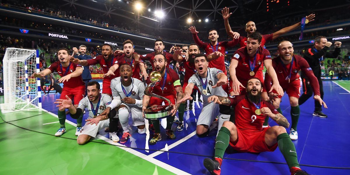 Portugal campeão da Europa de futsal pela primeira vez ab560b06efa22