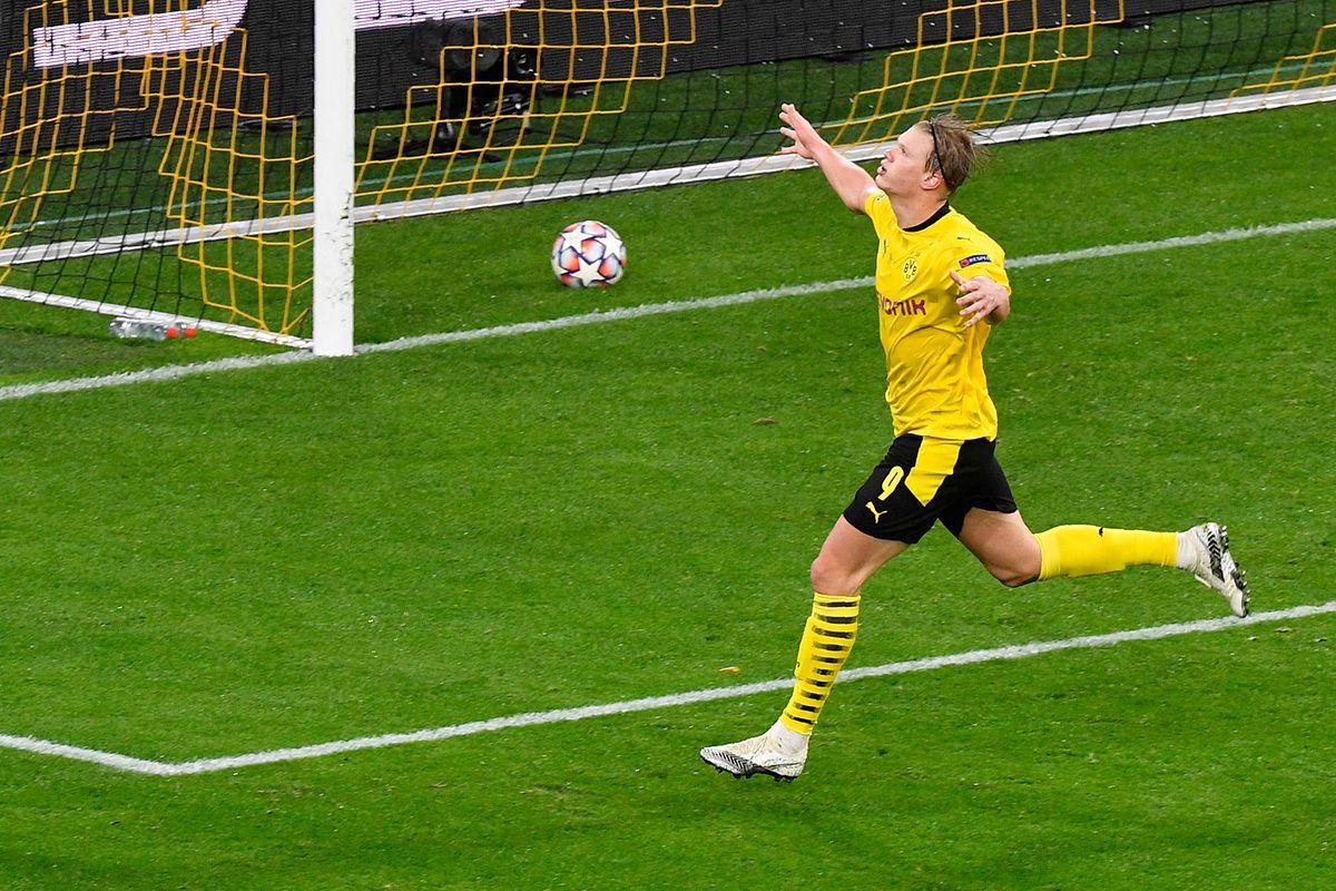 Dortmund und Erling Haaland tun sich gegen St. Petersburg lange schwer.