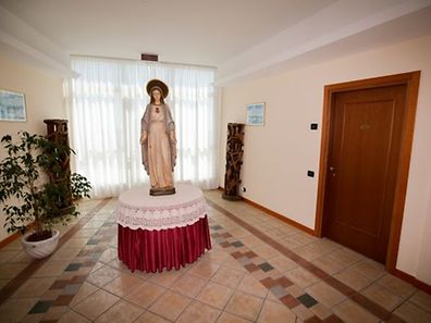 Marienstatue in den Fluren