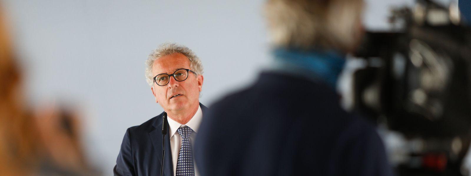 L'incertitude des prochains mois incite «à la vigilance dans l'exécution budgétaire», prévient lundi Pierre Gramegna.
