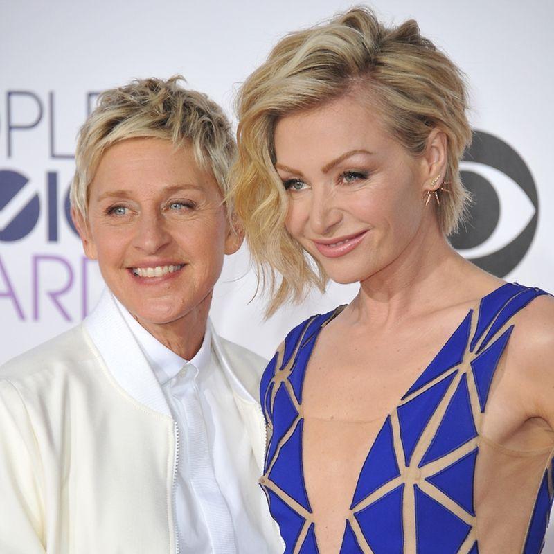 lesbische talkshow-moderatorin