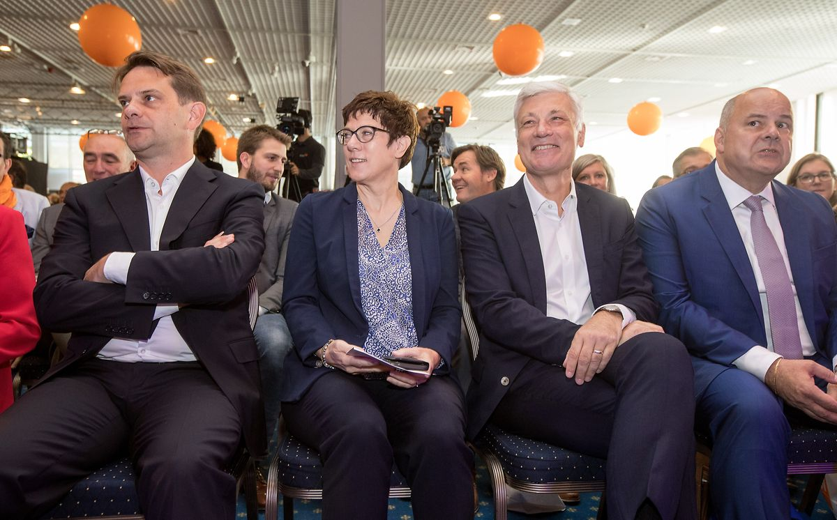 CDU-Generalsekretärin Annegret Kramp-Karrenbauer ist aus Deutschland zum CSV-Kongress angereist.