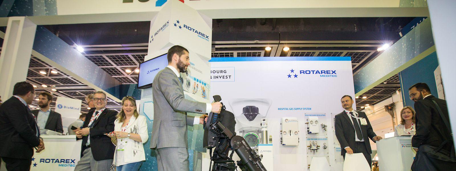 Selbstständig unterwegs: Die in Luxemburg angesiedelte Firma ExoAtlet entwickelt Exoskelette.