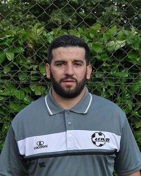 Nuno Costa, treinador do Remich/Bous.