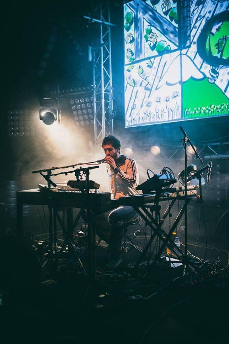 David Santos, aka Noiserv, actuou pela primeira vez no Luxemburgo