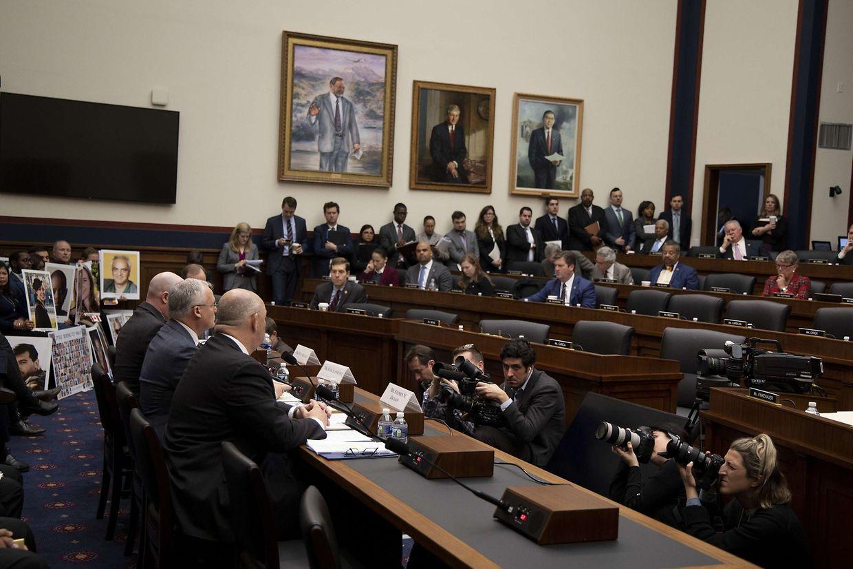 Der Anhörungssaal in Washington DC am Mittwoch.