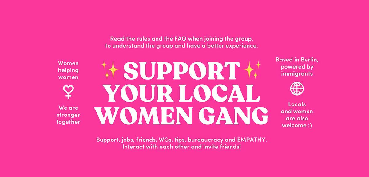 International Women in Berlin é o nome do grupo que une milhares de mulheres na capital alemã