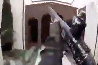 Capture d'écran de la vidéo, authentifiée par l'AFP, et qui a depuis été retirée des réseaux sociaux.