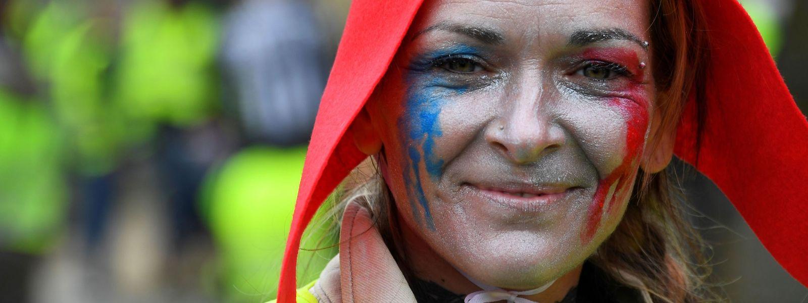 A Paris, les Gilets jaunes étaient près de 3.000 ce samedi