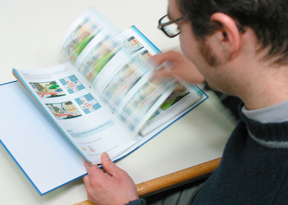 The theory exam tests  your knowledge of the Luxembourg highway code