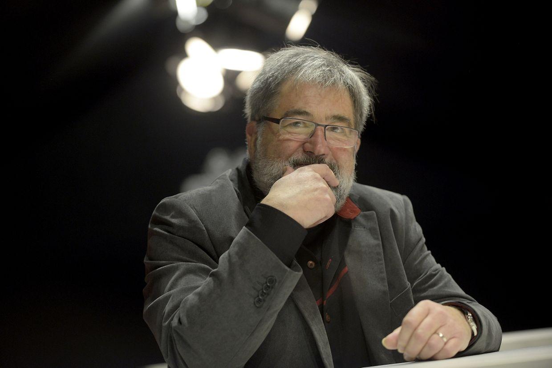 Roland Harsch ist mit dem Buchpreis in der Kategorie Literatur geehrt worden.