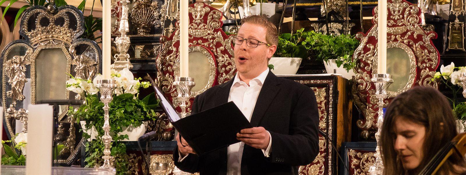 Der Sänger Jeff Mack hat eine große Leidenschaft für die Barockmusik.