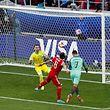 Cristiano Ronaldo a isncrit l'unique but de la partie sur une reprise de la tête.