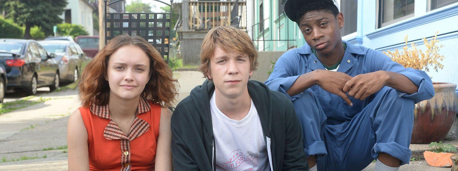 Ein Schicksalsschlag führt Rachel (Olivia Cooke), Greg (Thomas Mann, M.) und Earl (RJ Cyler) zusammen.