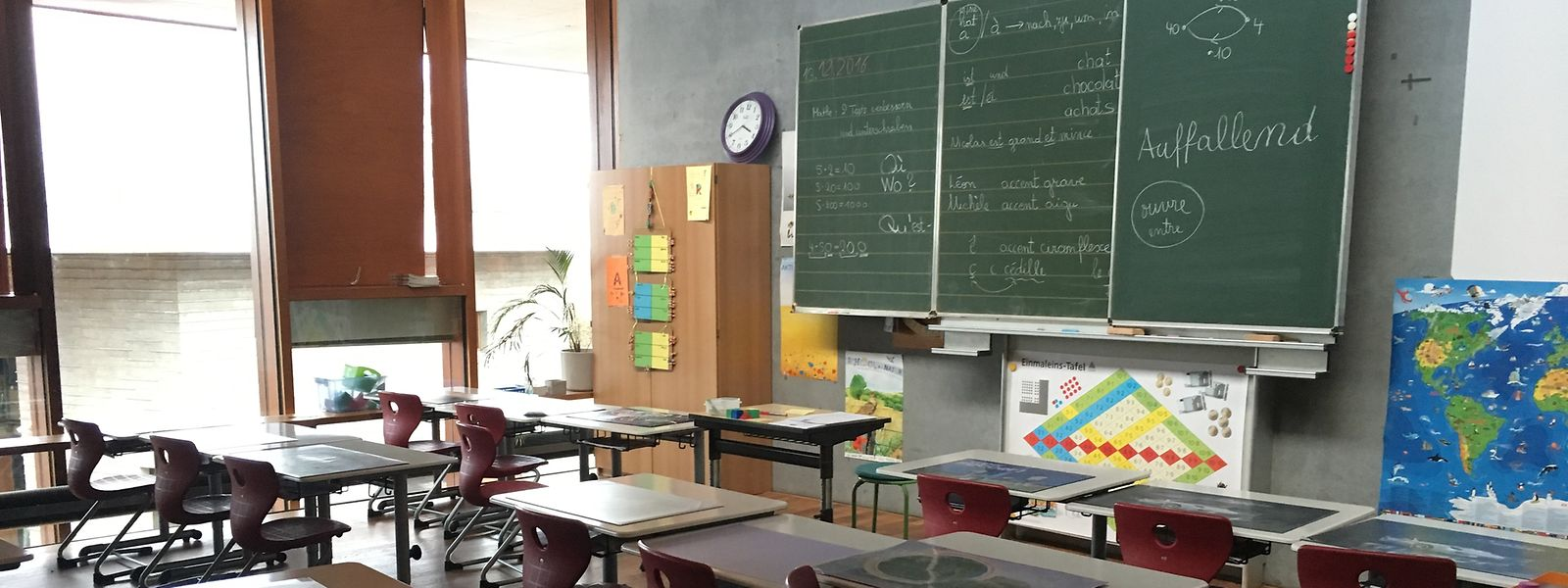 Die Schule ist einer der wichtigsten Orte für politische Bildung in Luxemburg.