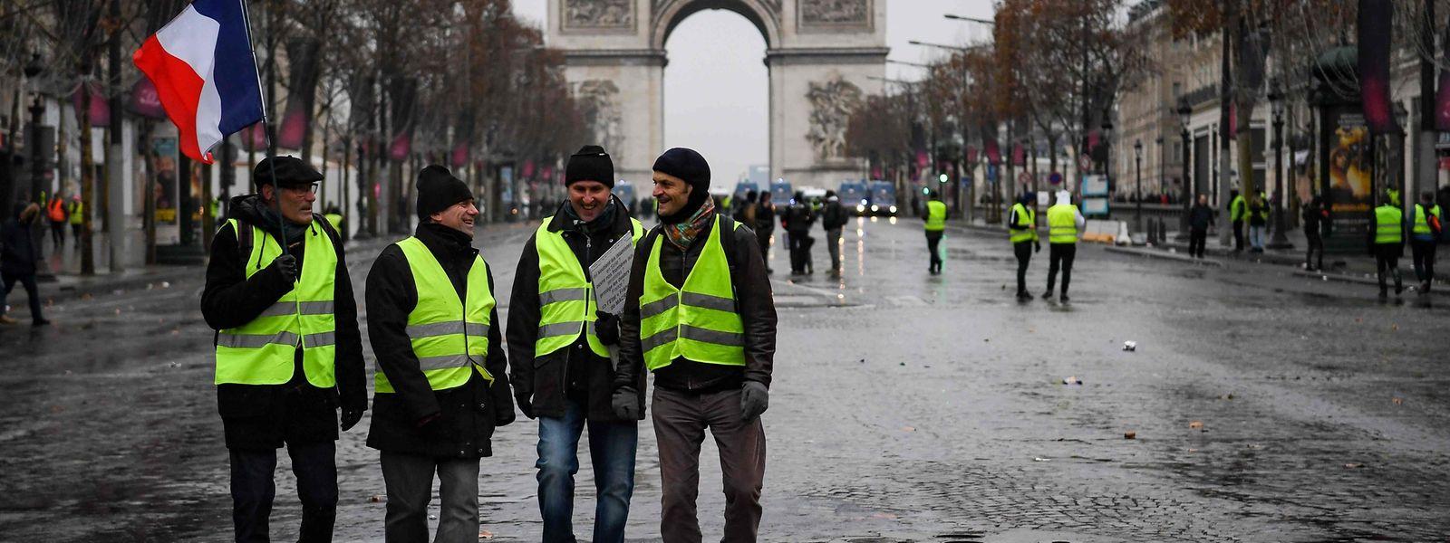 Bei den Protesten am Samstag wurden etwa 90 Personen festgenommen.