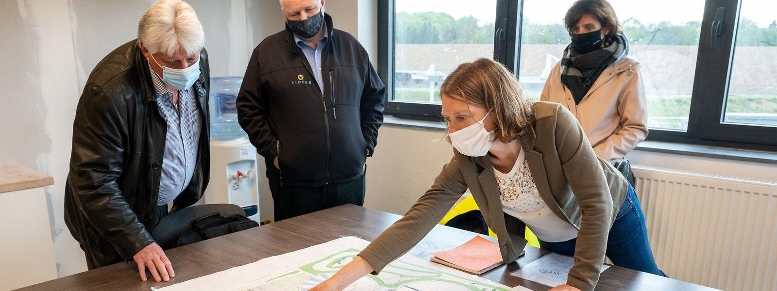 Bei den Planungen war die Standortfrage zentral. Betreiber der Kläranlage wird die belgische Idelux, der der Pumpstation das luxemburgische Sidero.
