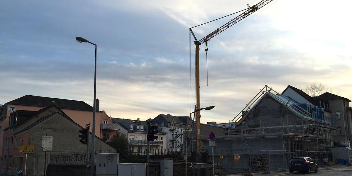 Verschwundene Erinnerung: Das Wohnhaus von André Duchscher wurde bereits abgerissen