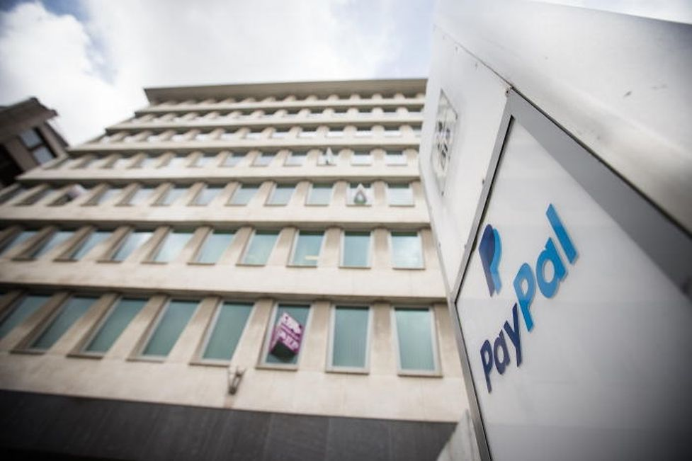 Paypal's European offices located on Boulevard Royal in Luxembourg City.