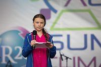 Greta Thunberg demonstirert seit 2018 für mehr Klimaschutz.