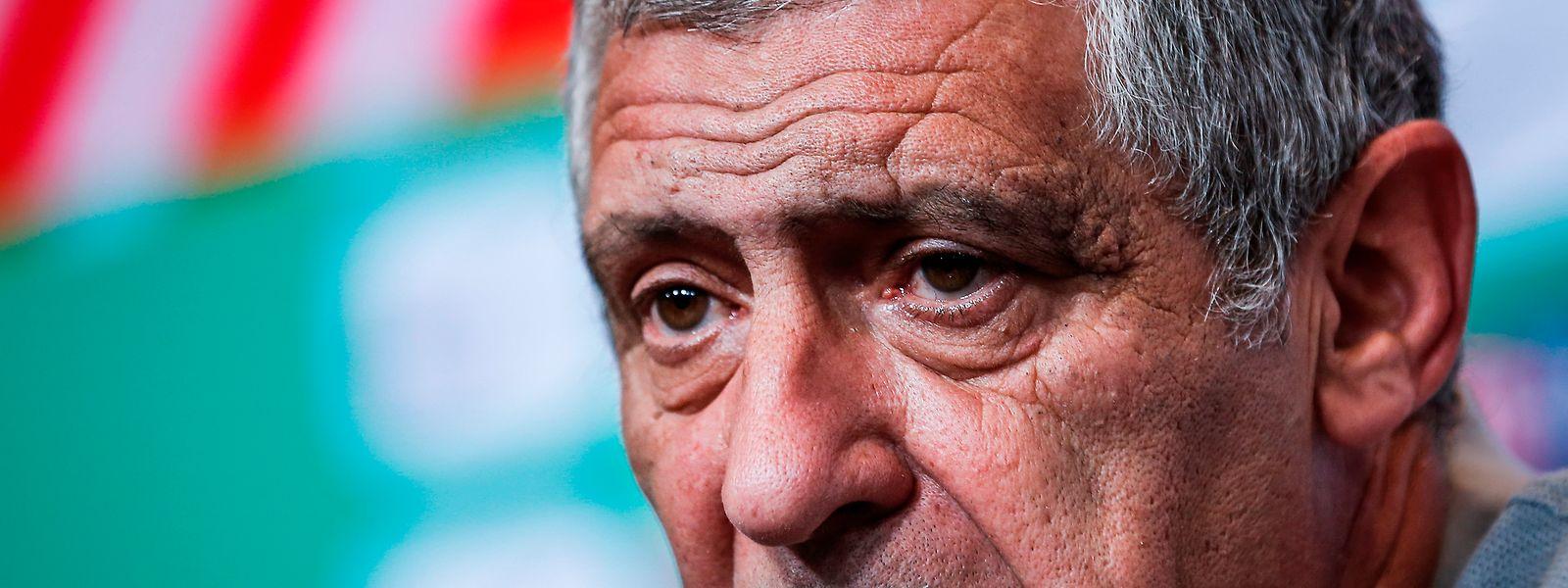 Frente aos sérvios, Fernando Santos quer ver uma seleção portuguesa mais agressiva no momento ofensivo e a criar ainda mais pressão sobre os seus adversários.