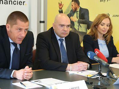 Laurent Mertz, Roberto Scolati et Alessandra Giuliano