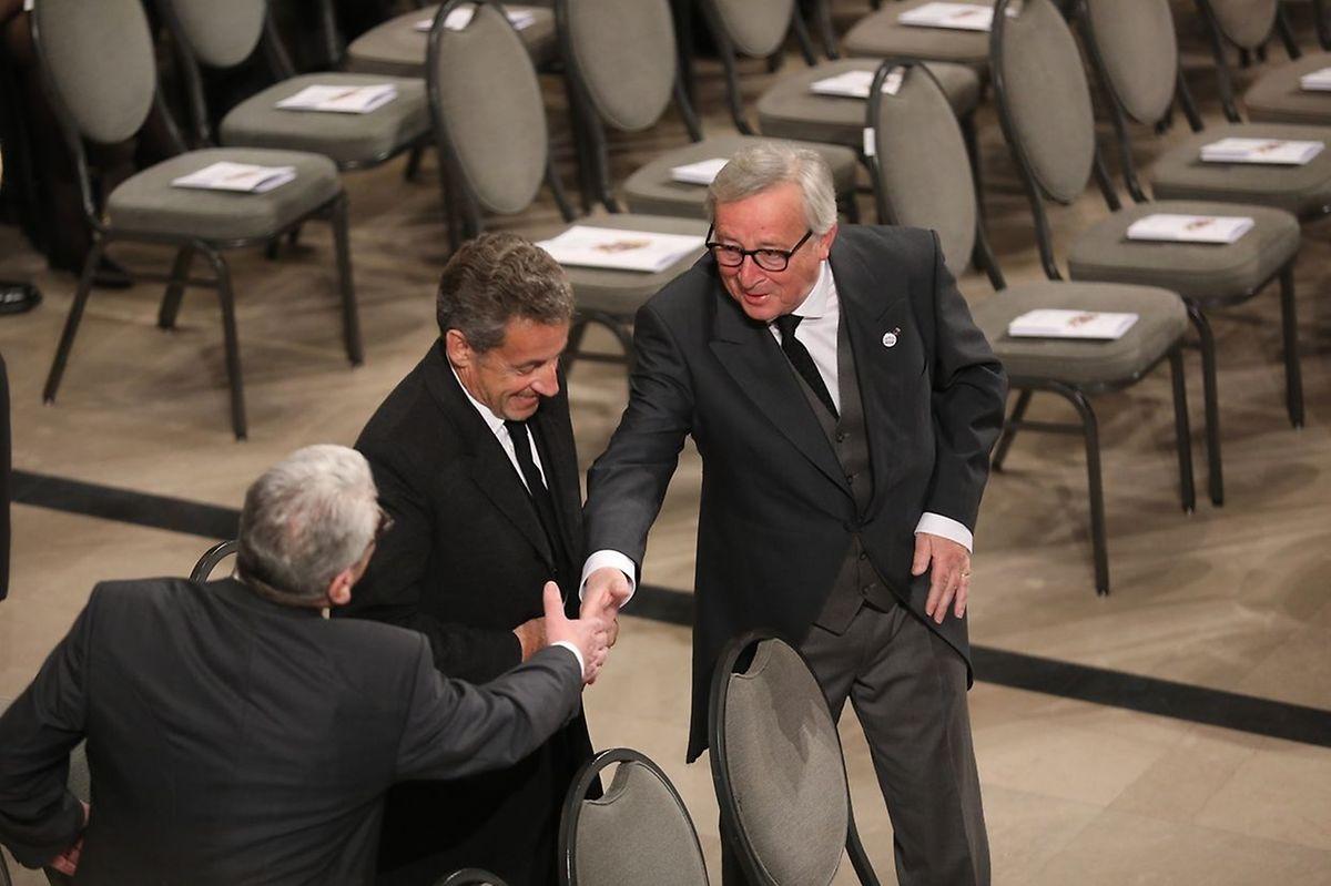 L'ancien président français a assisté aux funérailles du Grand-Duc Jean, en mai dernier.