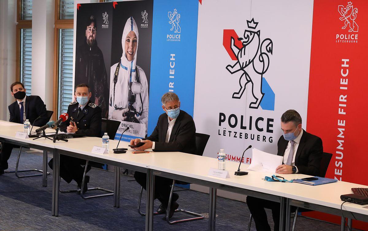 Mit ihrer Kriminalitätsstatistik will die Polizei belegen, dass sie ihren Einsatz gegen den Drogenhandel nicht nur an Brennpunkten deutlich verstärkt hat.