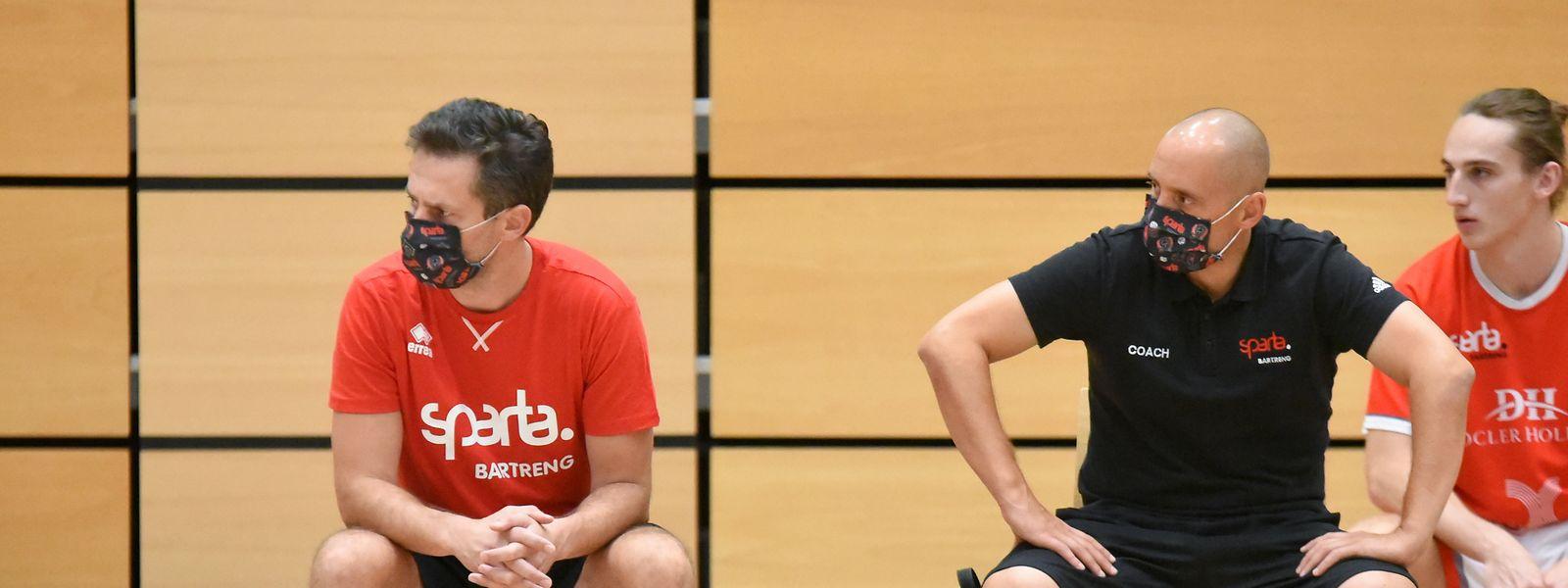 Pascal Meurs (l.) und Chris Wulff arbeiten gerne zusammen.
