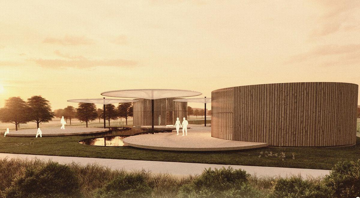 So könnte der Pavillon in Zukunft aussehen.