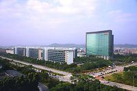 Dominierende Marktposition: Der Firmensitz des Telekommunikationskonzerns liegt im südchinesischen Shenzhen.