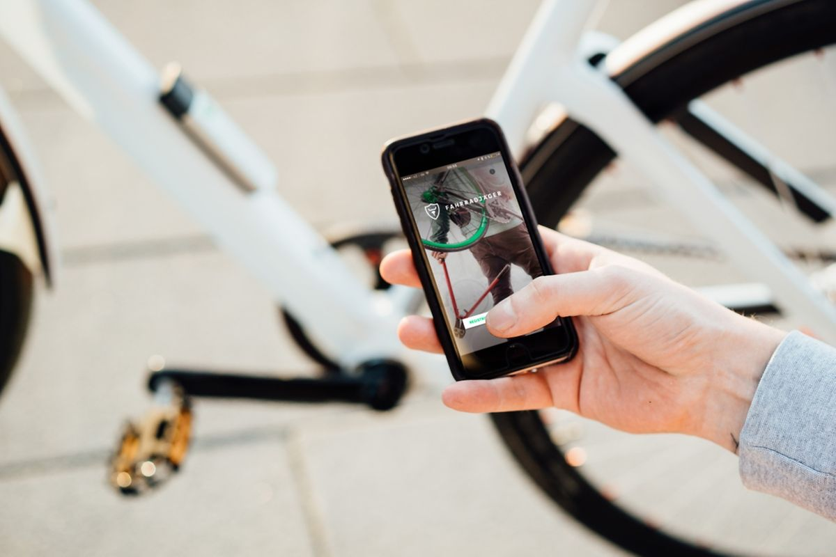 Mittlerweile ist auch das Fahrrad digital, auch beim Diebstahlschutz.