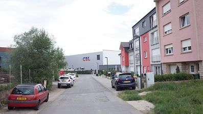 Dieser Teil der Rue de l'Industrie soll ab Montag aus Richtung Sassenheim kommend gesperrt werden.