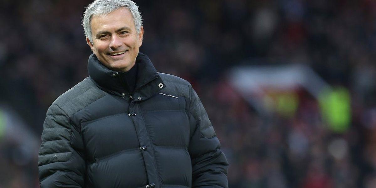 O treinador português, José Mourinho
