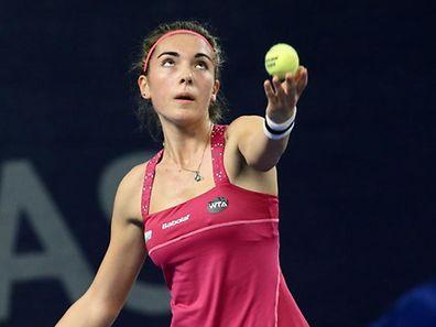 Eleonora Molinaro a une belle chance de se qualifier pour le deuxième tour du tableau final.