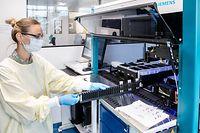 Wi , Firma Fast Track Diagnostics , Siemens Healthineers Company , Esch , Op Sommet , Foto:Guy Jallay/Luxemburger Wort