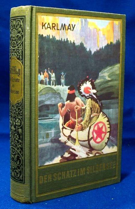 """Die meisten der Titelbilder aus der berühmten """"grün-goldenen"""" Reihe entstammten der Feder von Carl Lindeberg."""